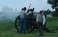 Civil War Cannon photo by Steven Forrest